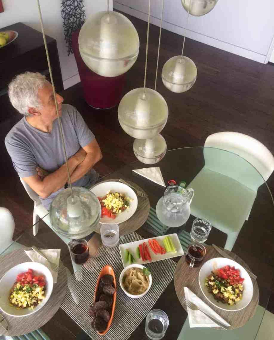 Sami at table