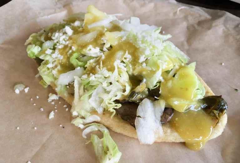Huarache at Papalote Taco House, Austin