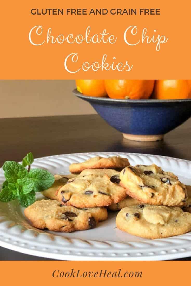 Gluten Free Chocolate Chip Cookies • Cook Love Heal by Rachel Zierzow