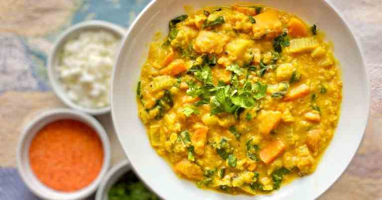 Thai-Inspired Red Lentil Curry •Cook Love Heal by Rachel Zierzow
