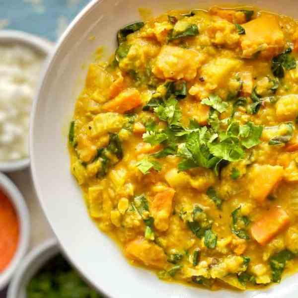Thai-Inspired Red Lentil Curry