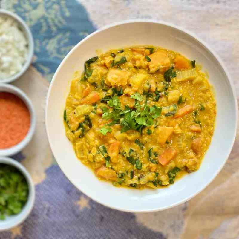 Thai-Inspired Red Lentil Curry • Cook Love Heal by Rachel Zierzow