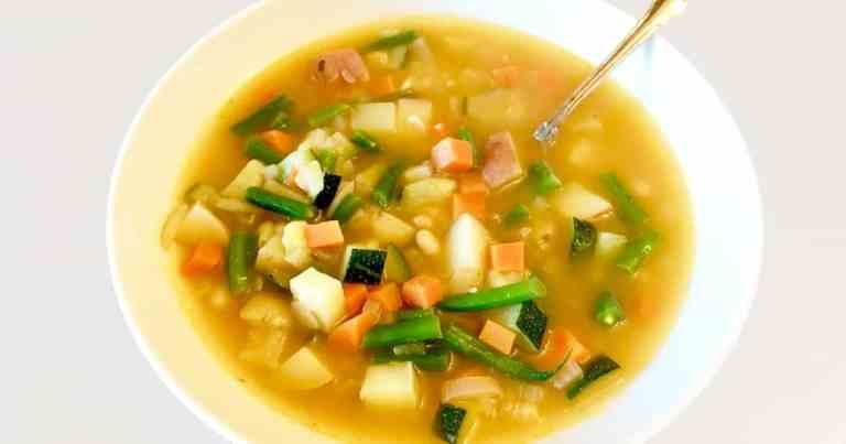 Soupe Au Pistou - Provençal Vegetable Soup •Cook Love Heal by Rachel Zierzow