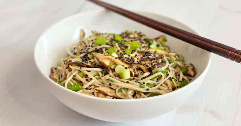 Japanese Soba Noodle Salad • Cook Love Heal by Rachel Zierzow