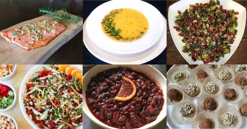 7 Healthy Holiday Recipes (Gluten Free and Dairy Free)