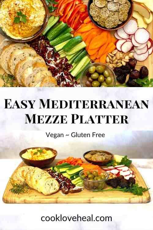 Easy Mediterranean Mezze Platter