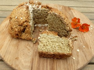 Low FODMAP Oat Flour Soda Bread