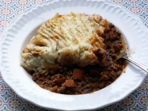 Low FODMAP shepherds pie recipe