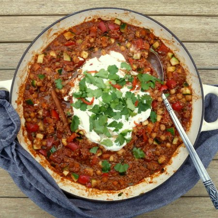 Low FODMAP, Vegetable chilli