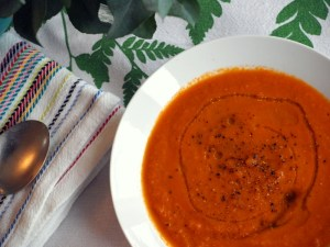 Low FODMAP Tomato and Carrot Soup