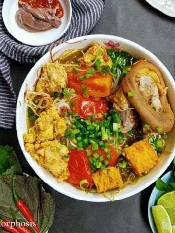 bun rieu cookmorphosis crab consomme soup