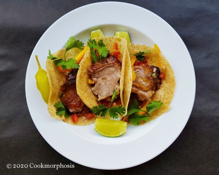 Tender Roasted Duck Tacos