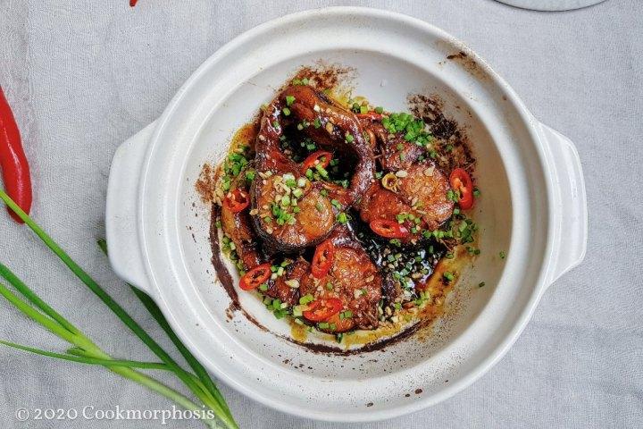 caramelized catfish clay pot
