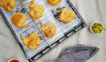 bon chon style crispy chicken wings