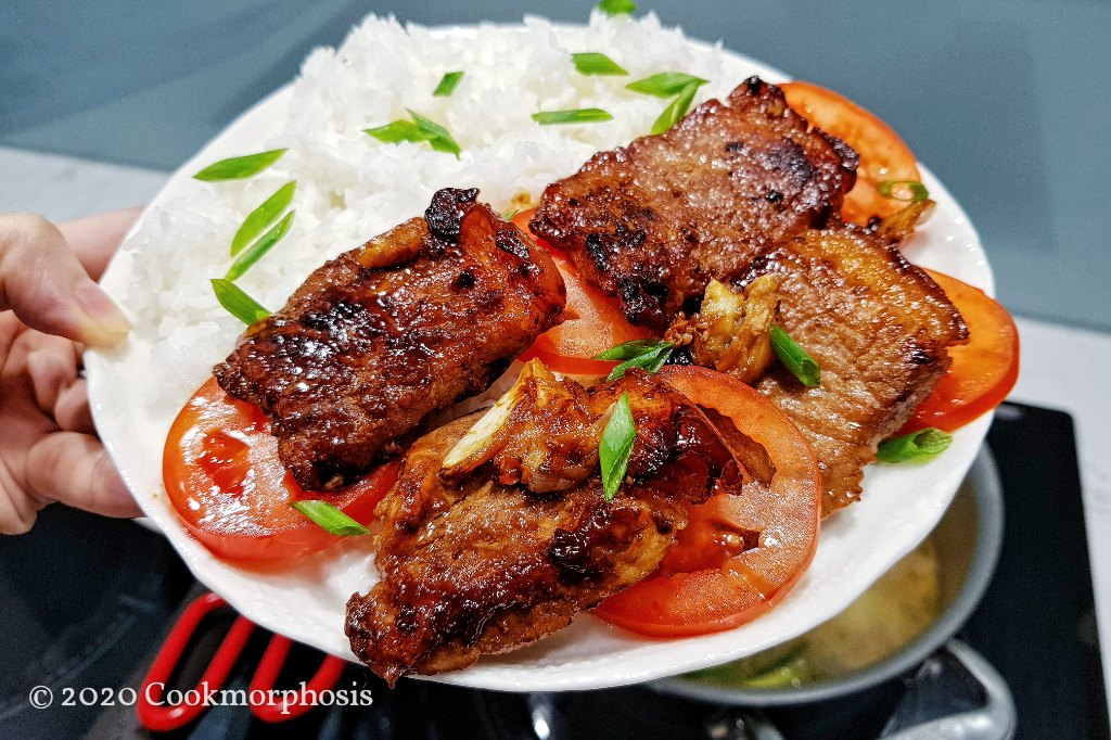 pan fried pork
