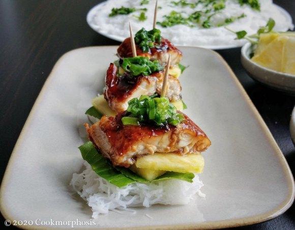 grilled unagi with eel sauce recipe