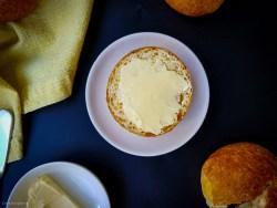 butter parker house rolls