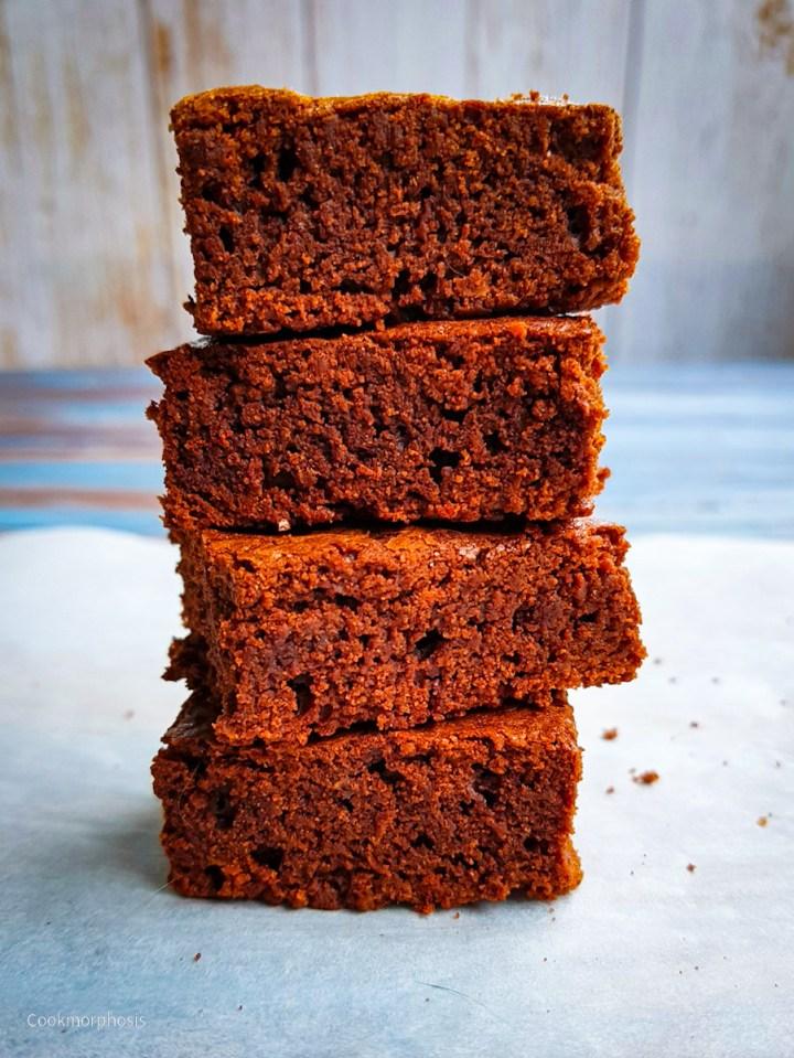 inexpensive fudgy brownies