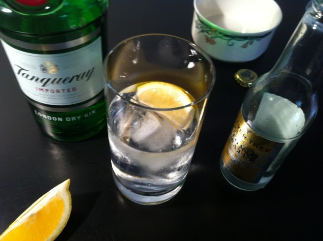 Tanqueray and Fever Tree