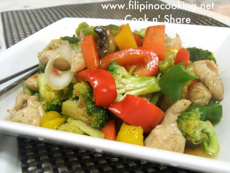 Image result for chop choy recipe