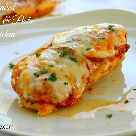 tomato pesto chicken
