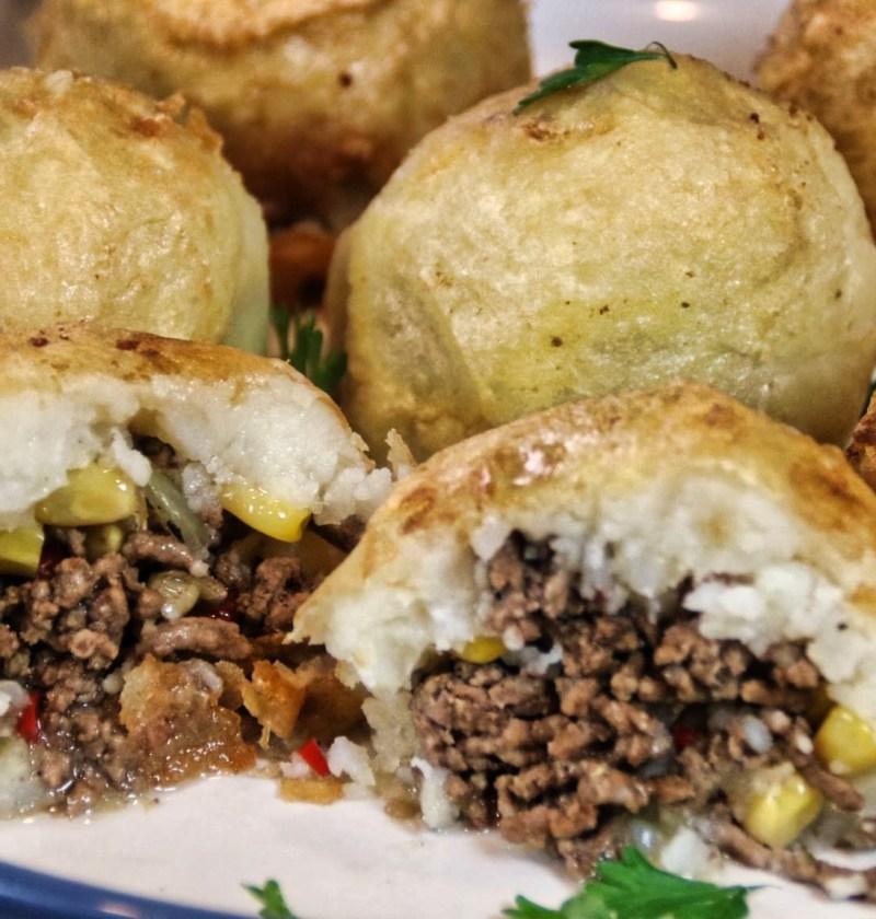 meatystuffed potato