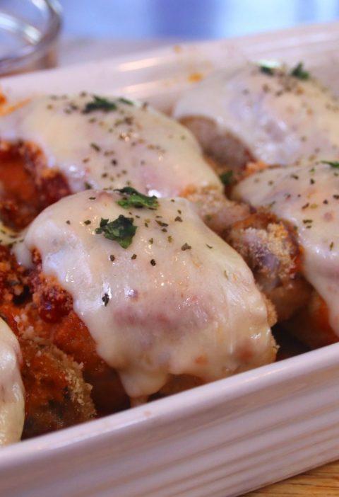 chickenparmesandrumsticks