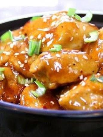 sweet asian chicken