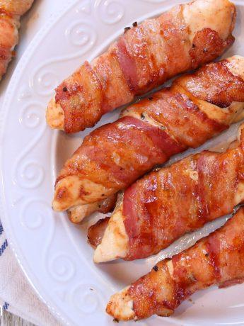 bacon wrap chicken