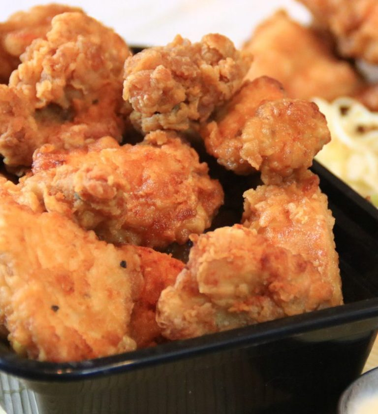 garlic ginger nuggets