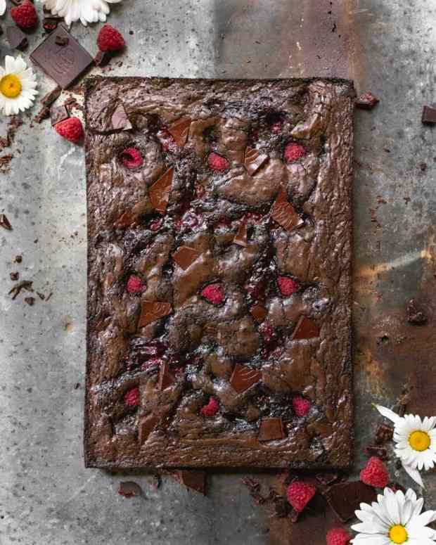 Raspberry Jam Brownies