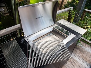 Infinity Side Burner Stainless BBQ