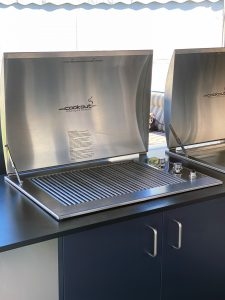 Gas Built In Stainless Grill Infinity BBQ