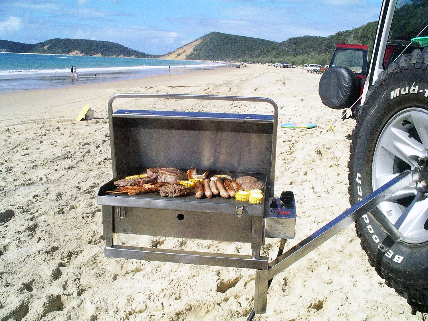 Classic Gas portable BBQ