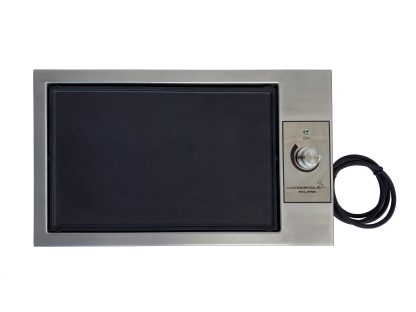 Eclipse built in electric flat plate BBQ