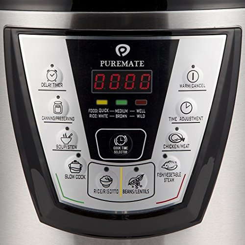 PureMate Electric cooker digtital controls