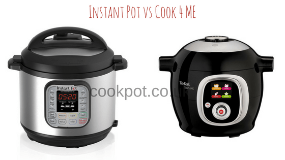 Instant Pot vs Cook4me by Tefal