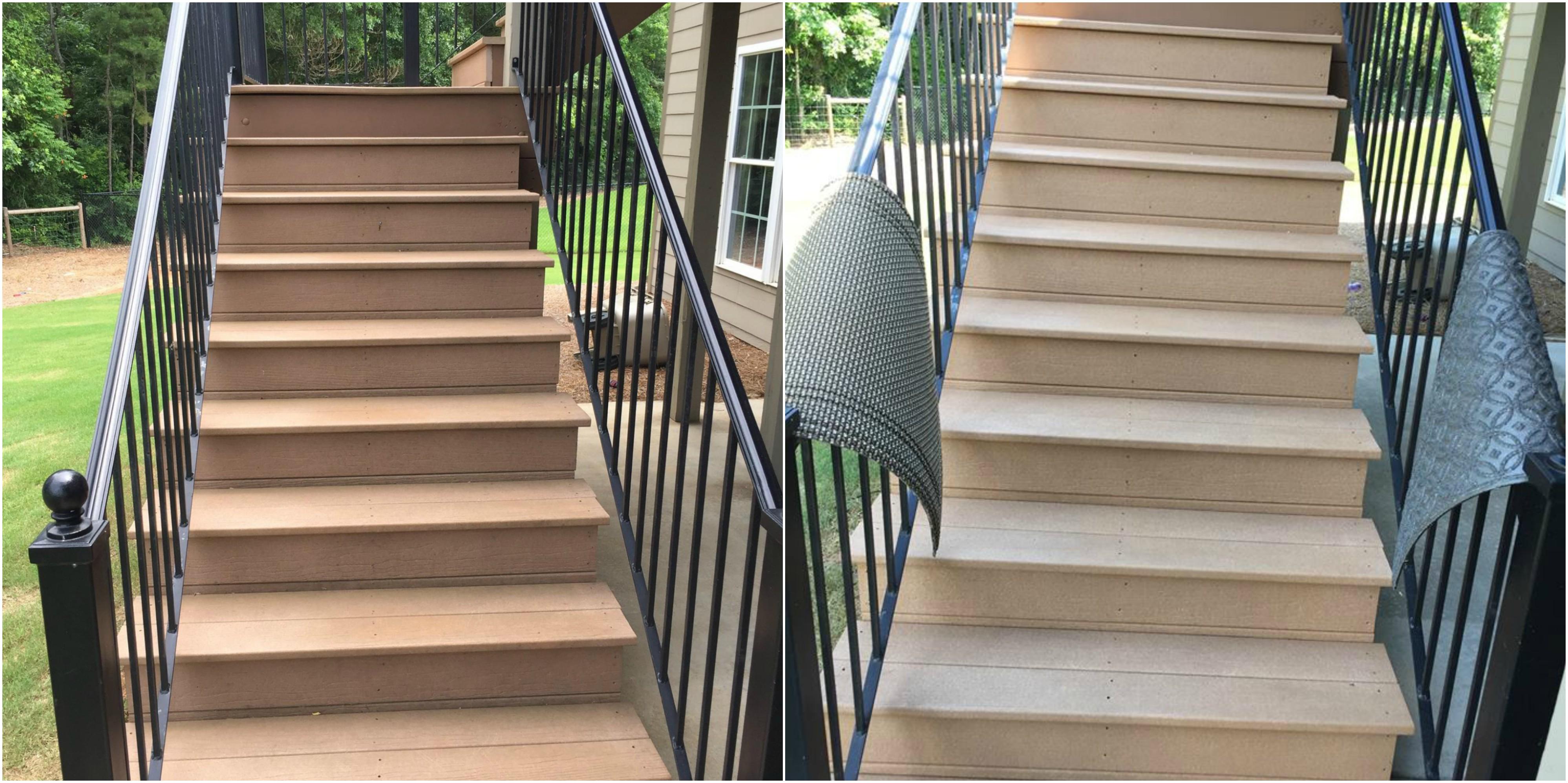Pressure Washing Stairs Bogart GA
