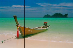 The rule of threes.  Image: https://sotamedialab.files.wordpress.com/2014/10/kohphiphi-15.jpg