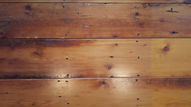 Wide Hemlock Flooring