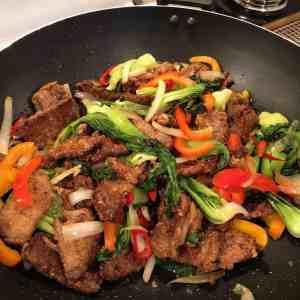 beijing beef wok