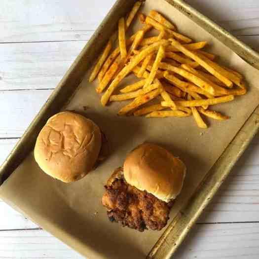 buttermilk chicken sandwich chipotle fries