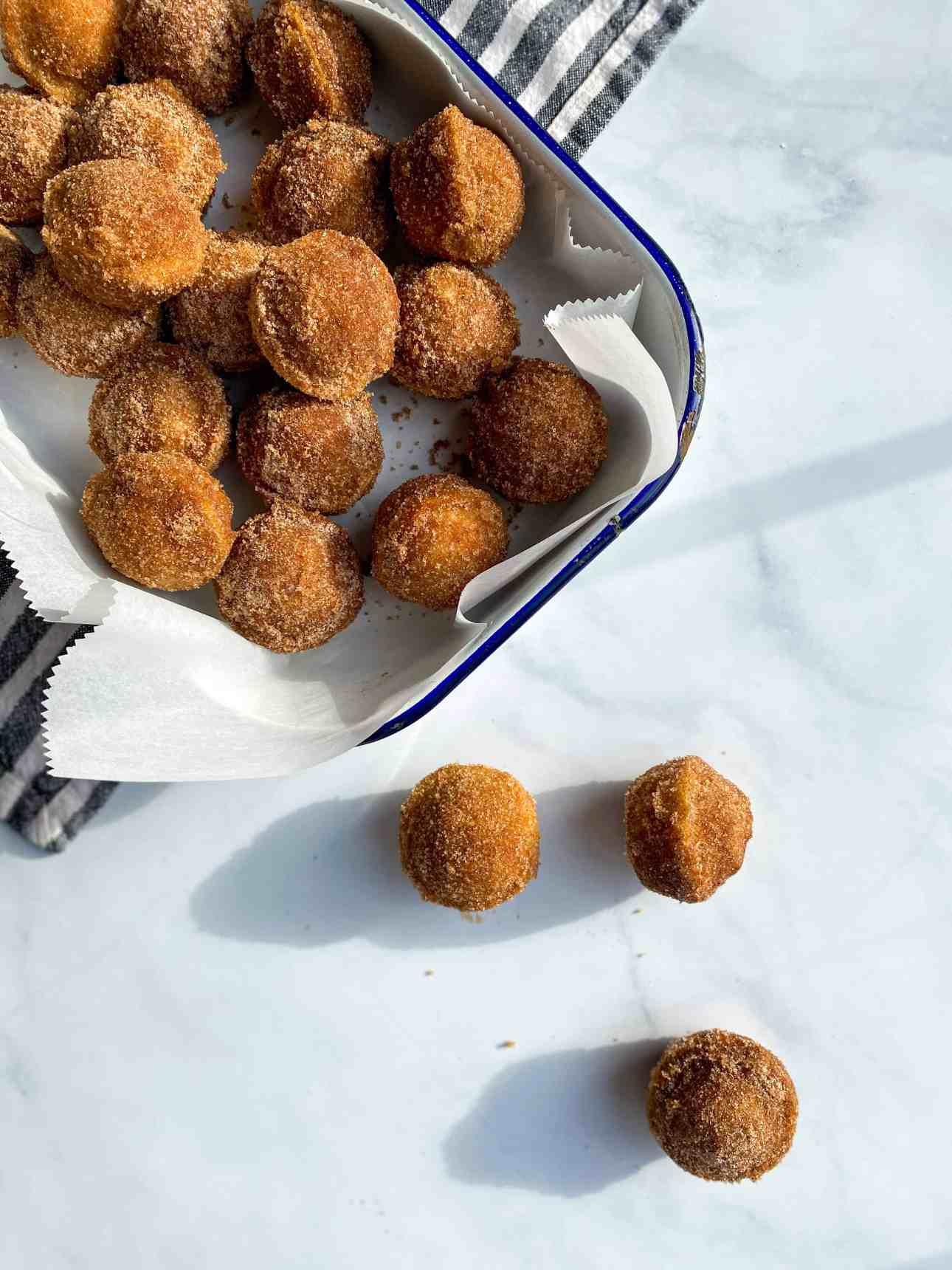 Cinnamon-Cardamom Mini Donut Muffins
