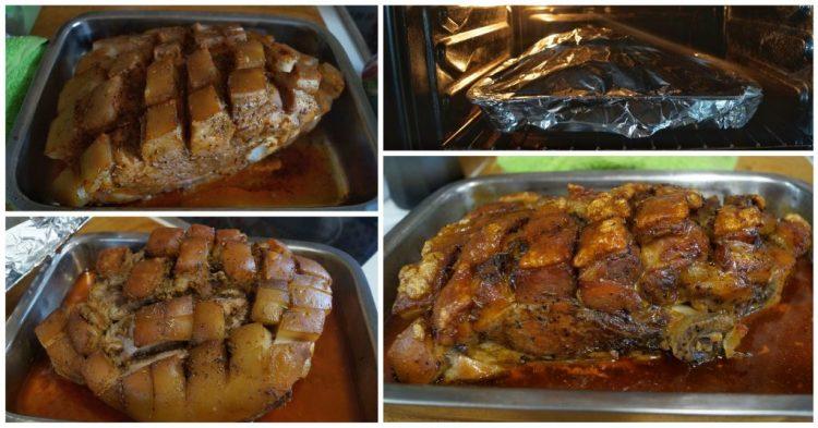 receta de jamon asado