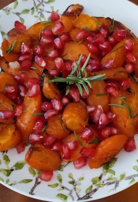 zanahorias con granada