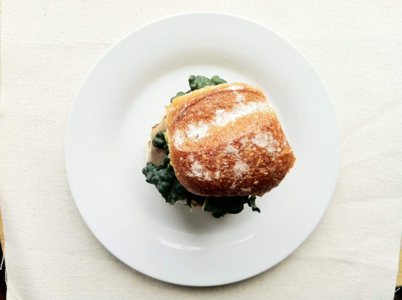 Kale and Salmon Burgers