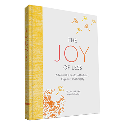 The joy of less francine jay book deal