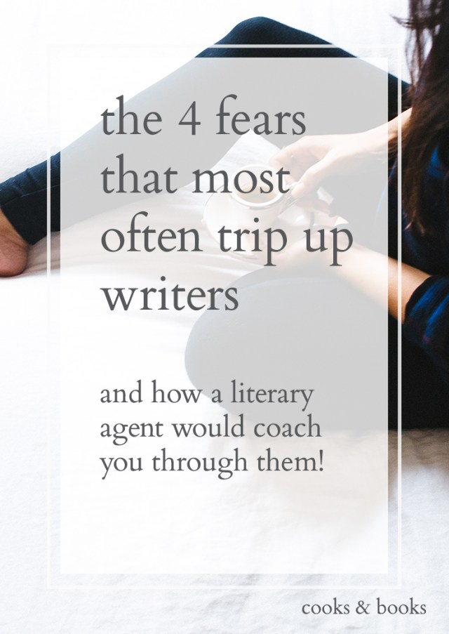 4 Fears Writers Face Literary Agent (short)