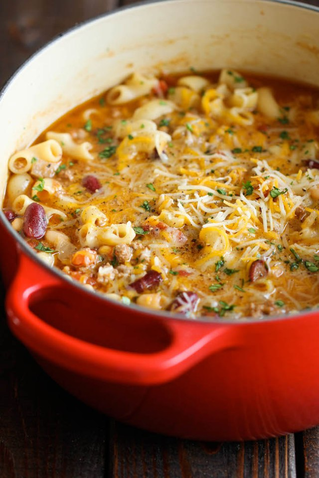 damn delicious cookbook chili mac and cheese