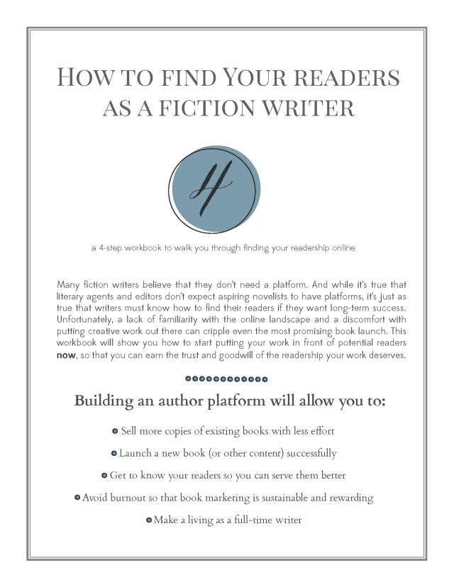 How To Find Your Readers as a Fiction Writer_Page_1